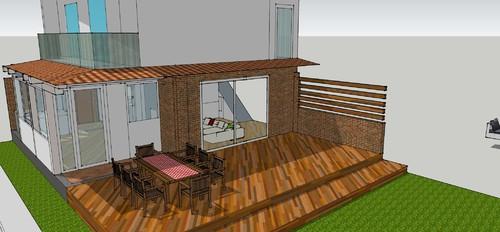 Trendy excellent opzione due ampliamento di circa mt in avanti per tutta la larghezza esclusa - Ampliamento casa con veranda ...