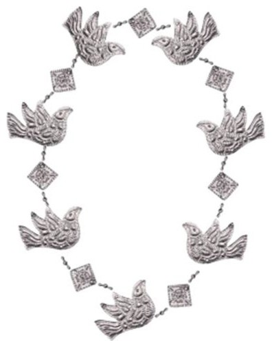 Songbird Essentials Dove Punched Metal Garland.