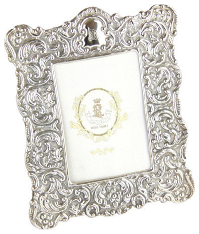 Royal Family Silver Picture Frame 18x22 Cm Victorian Picture