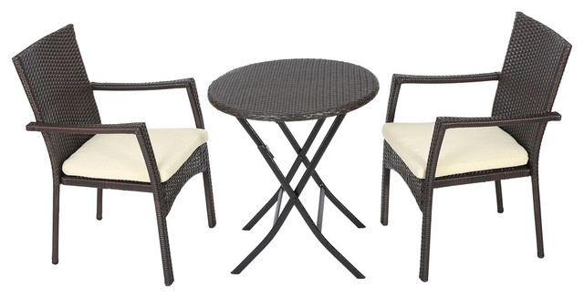 Acapulco 2-Piece Lounge Chair Set, Jet Black