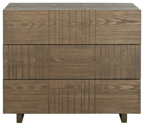 Mitch Mid-Century Scandinavian Three Drawer Cabinet
