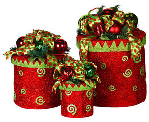 best price decorative christmas gift box lids new design