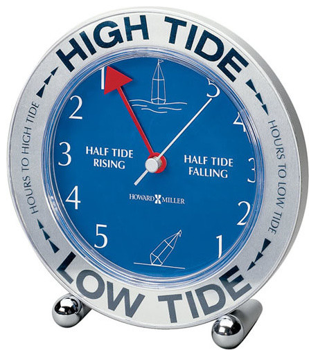 Howard Miller Tide Mate IIi Table Top Clock Contemporary Desk And Mantel