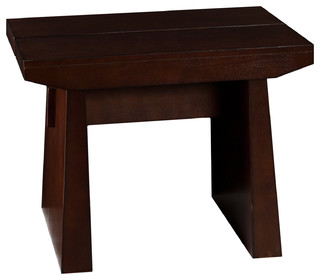 Xavier End Table - Contemporary - Side Tables And End Tables - by Shop Chimney