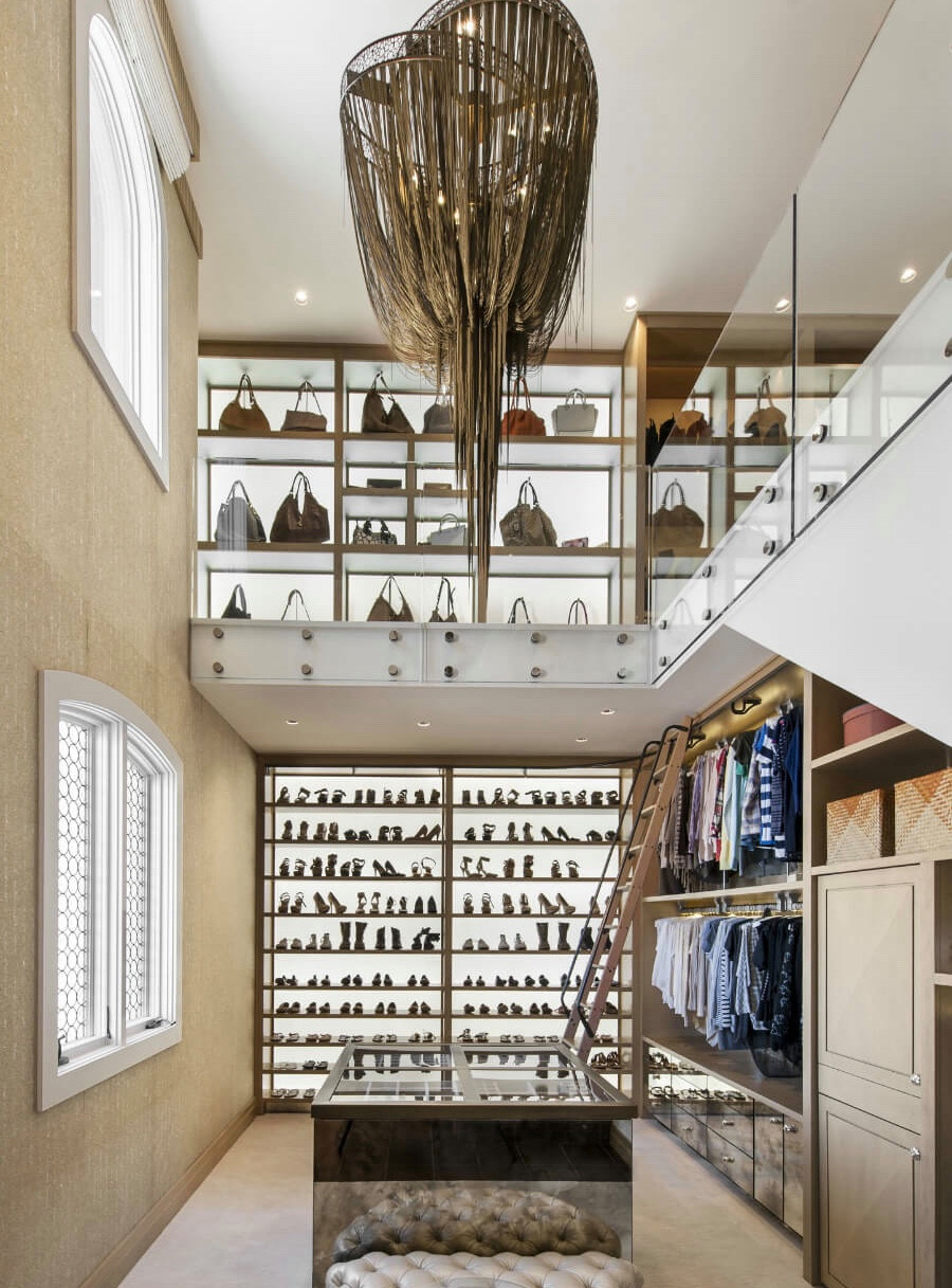 Inspiration for a transitional closet remodel in DC Metro