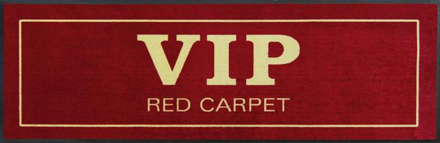 Easy Clean VIP Red Carpet Doormat, Large