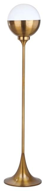 Renato Floor Lamp, Brass Gold.