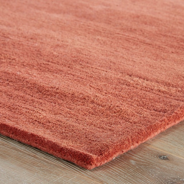 Jaipur Living Bough Handmade Abstract Coral/Tan Area Rug, 5'x8'