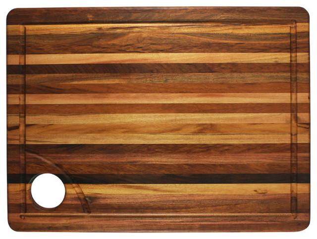 Churrasco Brazilian Tiger Wood Carving Board Modern