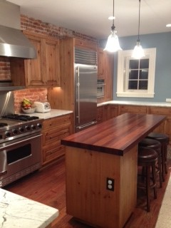 Any Ideas About How To Make This Island A Great Centerpiece Or At Least Match It To The Rest Of The Kitchen