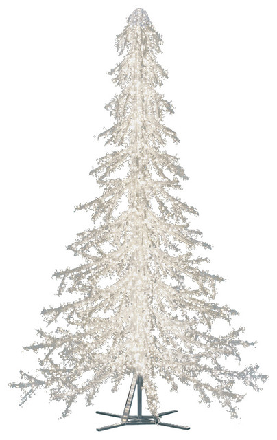 crystal branch tree contemporary christmas trees - Crystal Christmas Tree