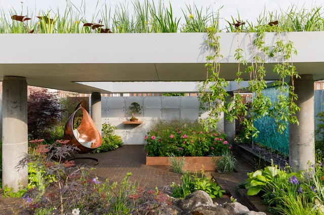 Small Garden Ideas To Steal From The Rhs Chelsea Flower Show 2019 Houzz Uk,Baby Shower Nail Designs Boy