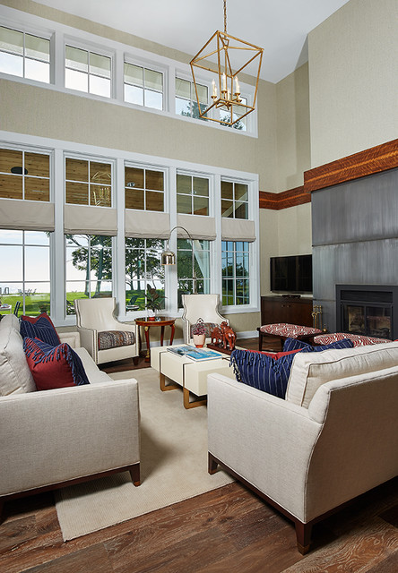 Rosewood Transitional Farmhouse