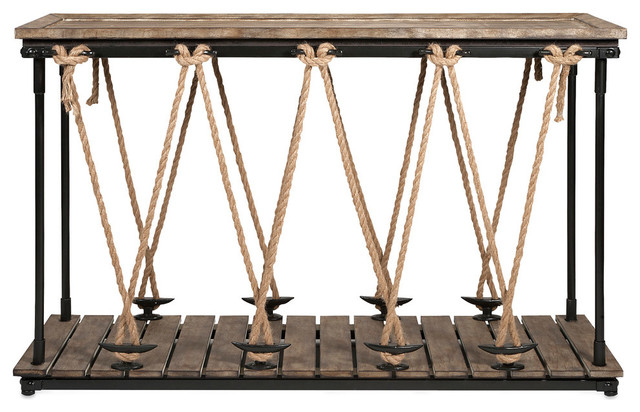 Astern Rope Console Table.