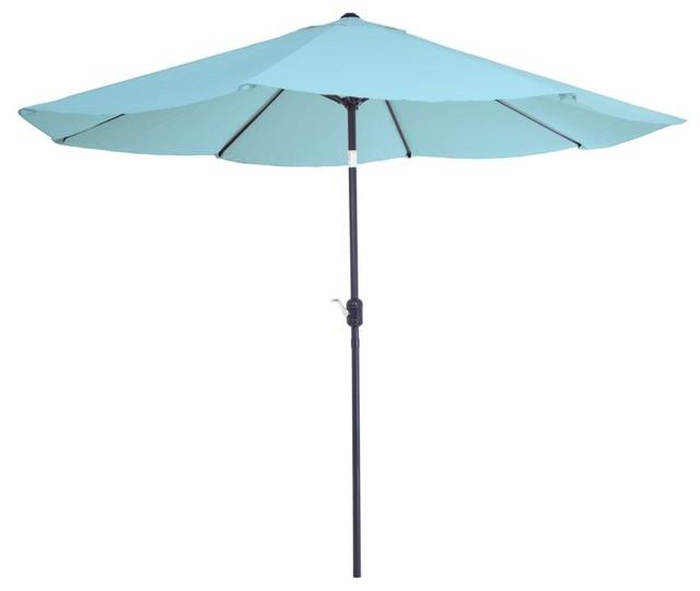 10 Market Umbrella Contemporary Outdoor Umbrellas By Amt Home Decor