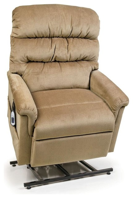 UltraComfort UC542-L Large (375#) Montage Recliner Lift Chair, Brown Sugar by UltraComfort America