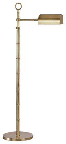 Franklin Floor Lamp, Gold
