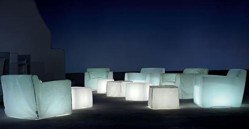 Glow In The Dark Furniture glow in the dark outdoor furniture!