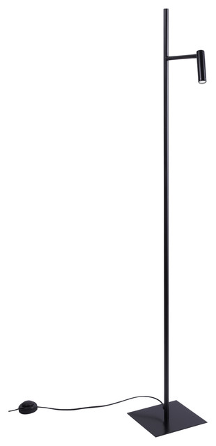 Robert Abbey Saturnia Stainless Steel Floor Lamp