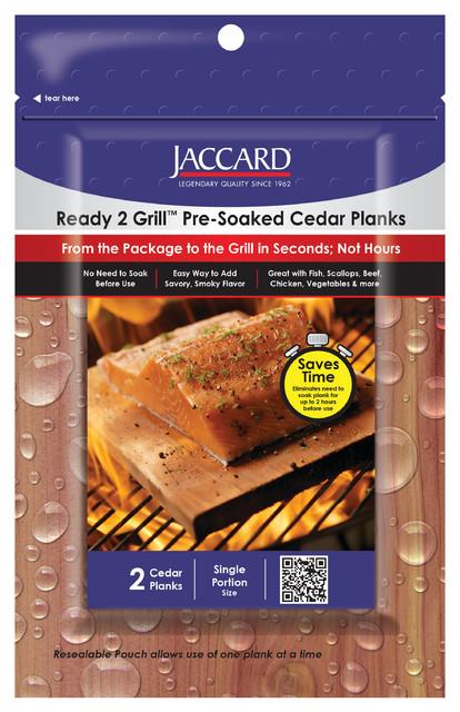 Ready 2 Grill Pre-Soaked Cedar Planks-Small, 2 Pl./pkg..