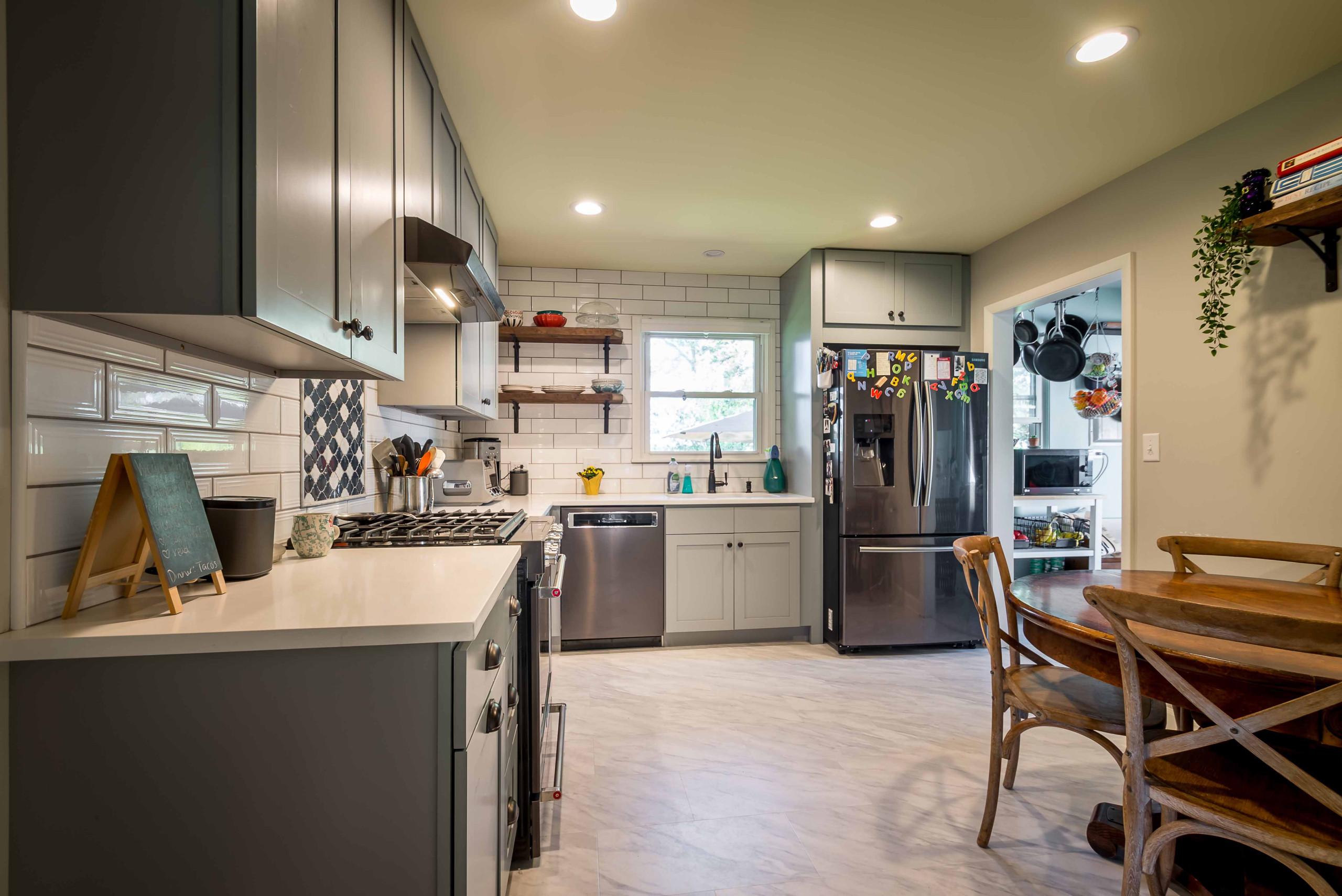 Modernization of Midcentury Childhood Home