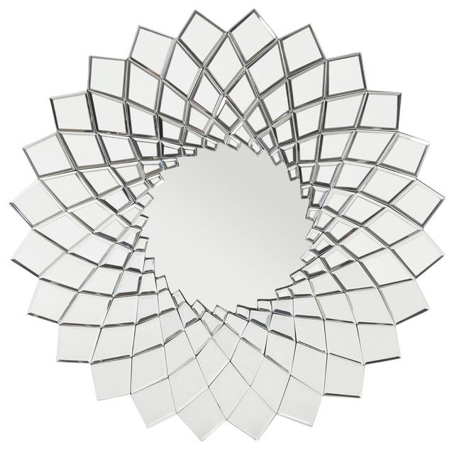 Lilith Glam Sunburst Wall Mirror.