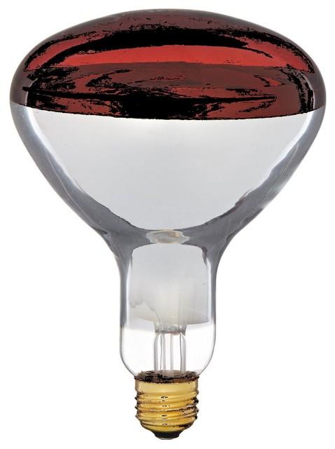 Philips 415836 Heat Lamp 250 Watt R40 Flood Light Bulb