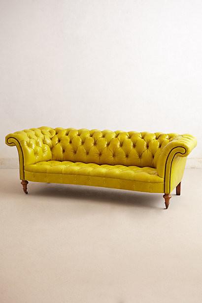 Citrine Chesterfield Sofa