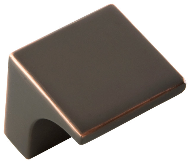 Swoop Oil-Rubbed Bronze Cabinet Knob - Transitional - Cabinet And ...