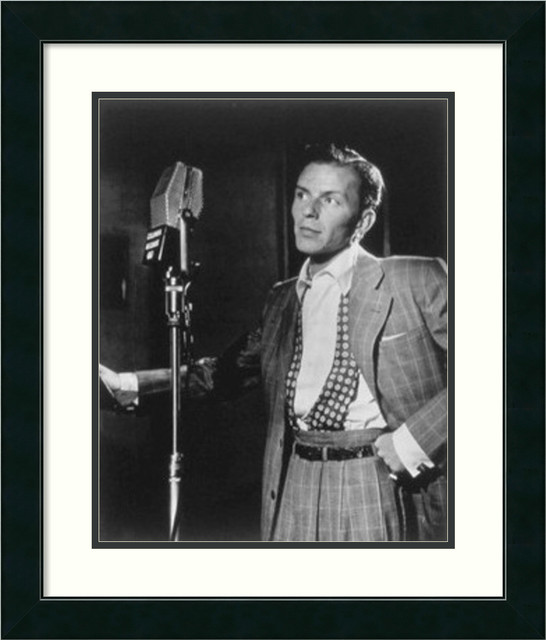 Golden Age of Jazz, Frank Sinatra Framed Print by William P ...