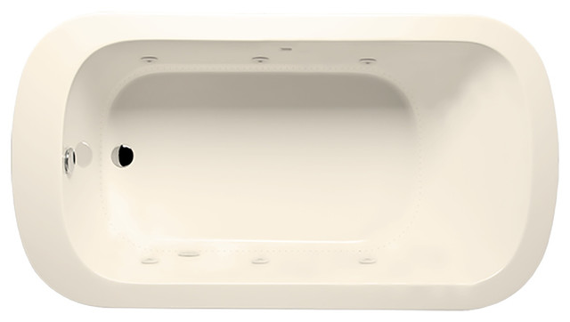 Ziva 6636 Luxury Series/airbath 2 Combo, Biscuit.