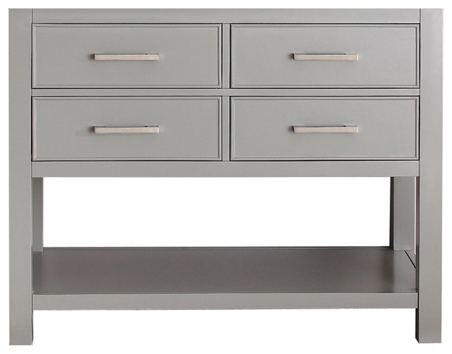 Avanity Brooks 42 Vanity Only, Chilled Gray Finish.