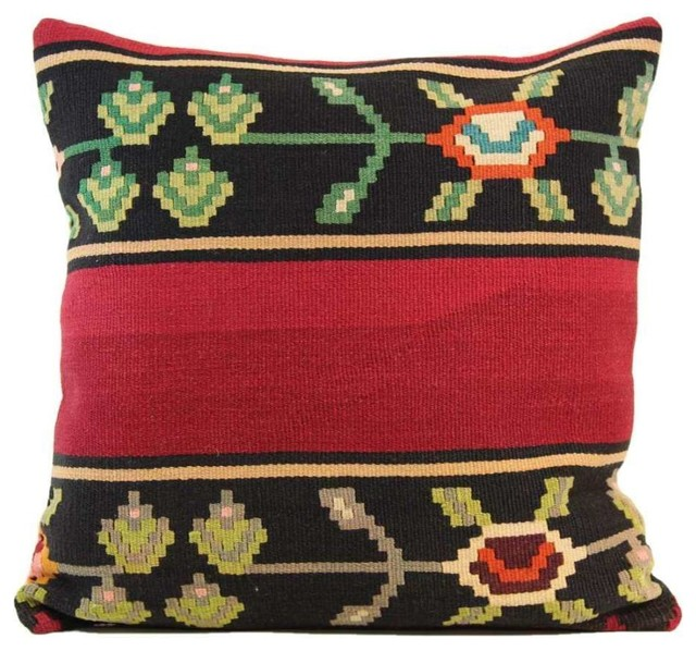 Handmade Vintage Throw Pillows : Handmade Vintage Kilim Pillow Cover 20