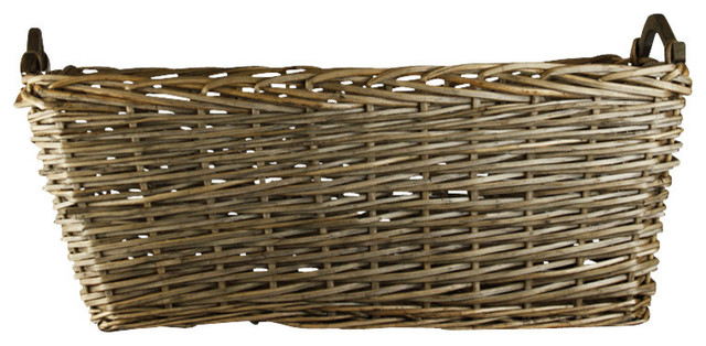 kitchen cabinets houzz edith basket farmhouse baskets other by zentique inc 20522