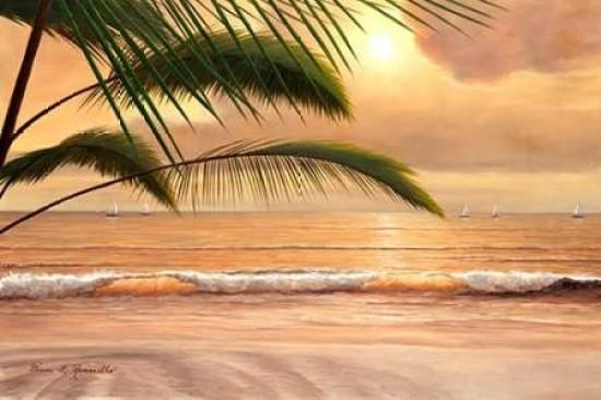 Paradisio by Romanello Tropical Seascape Print