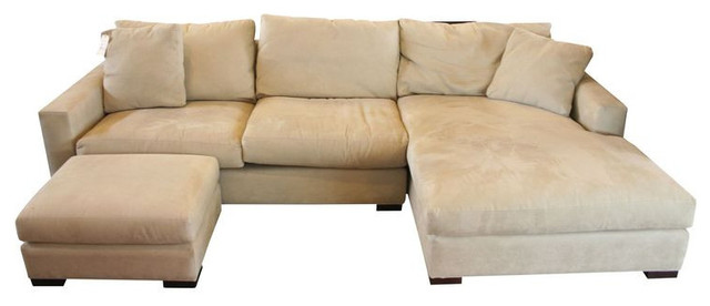 Room Board York Sectional Ottoman 3 400 Est Retail 1 655 O