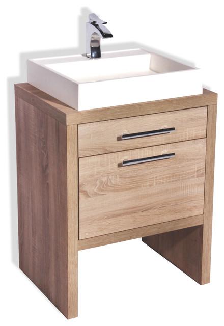 Montreal Oak Bathroom Vanity