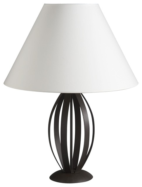 Plana lampe poser en m tal contemporary table lamps for Lampe a poser but