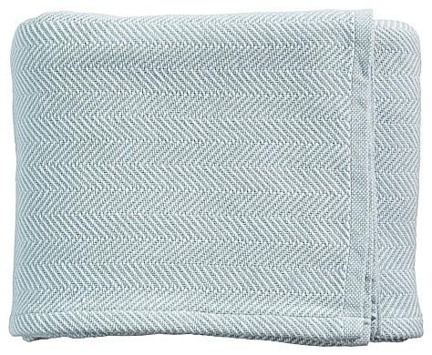 Surf Herringbone Bed Blanket