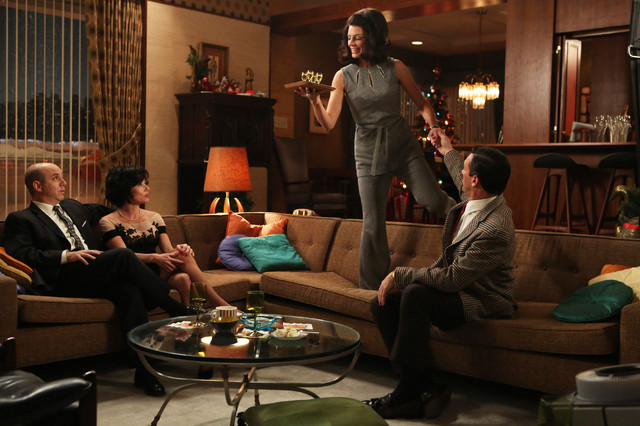 Inspired by Introspective: Mad Men's Claudette Didul midcentury