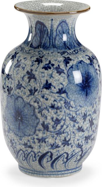 Drayton Vase, Hand Painted, Porcelain