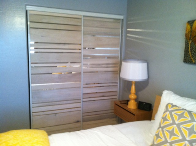 Closet Door Makeover Contemporary Phoenix By Sort