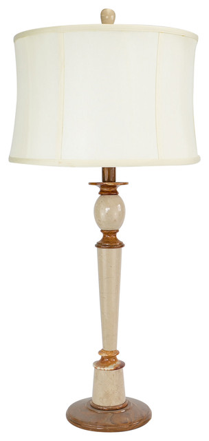 "32"" Tall Onyx Table Lamp ""Plumefall"", Chartreuse"