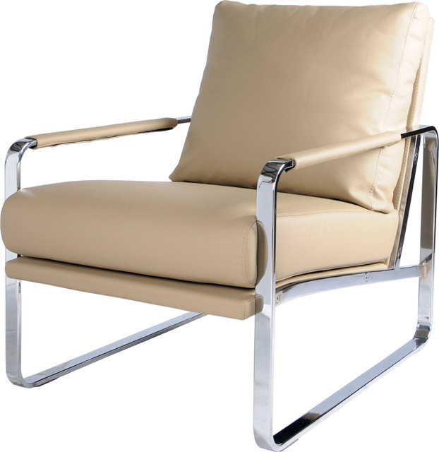 Zeppelin Accent Chair, Naturel by New Pacific Direct Inc.