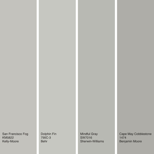 Dunn Edwards Paints Paint Colors Walls Dolphin Tales: How To Decorate With The Ever-Stylish Warm Gray