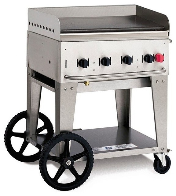 "Crown Verity Mg-30 Portable Outdoor Griddle, 28""."