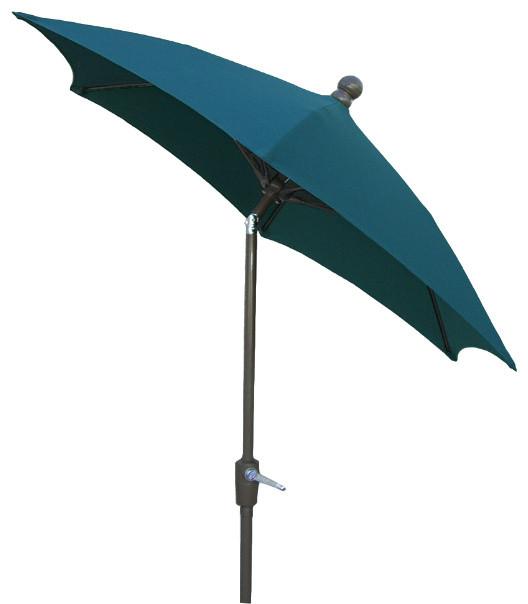 Patio Tilt Umbrella, 7.5&x27;.