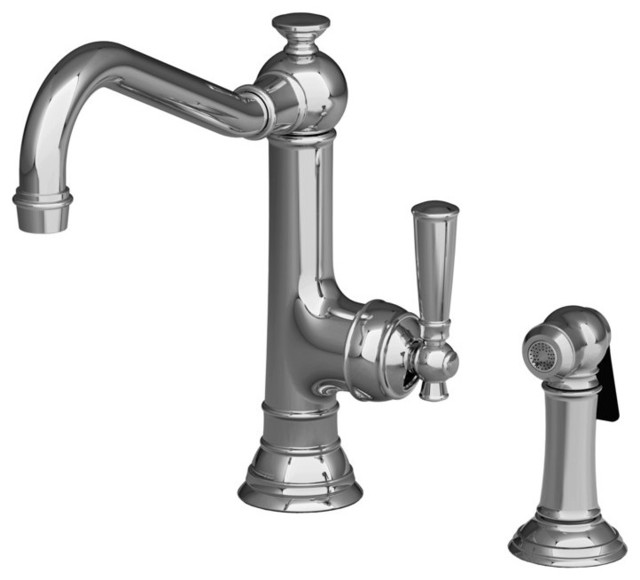 Newport Brass Kitchen Faucet: Newport Brass 2470-5313 Jacobean Single Handle Kitchen