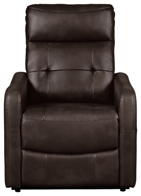 Brilliant Savonburg Power Lift Recliner With Massage And Heat Faux Leather Brown Caraccident5 Cool Chair Designs And Ideas Caraccident5Info