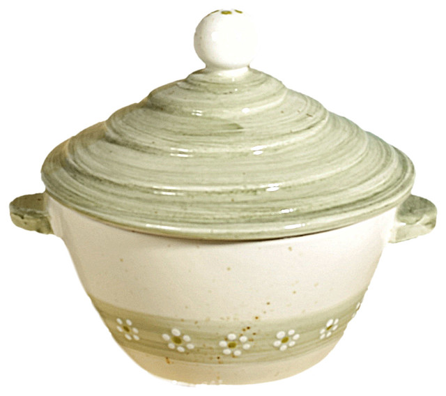 Meadow Small Round Ceramic Cocotte.
